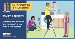 Falls prevention is a team effort