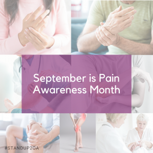 Sept is Pain Awareness Month