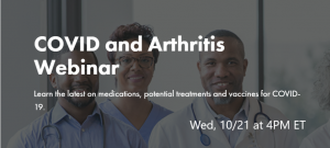 10/21 COVID and Arthritis Webinar