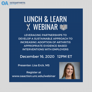 12/16 Lunch and Learn