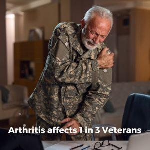 Arthritis Affects 1 in 3 Veterans